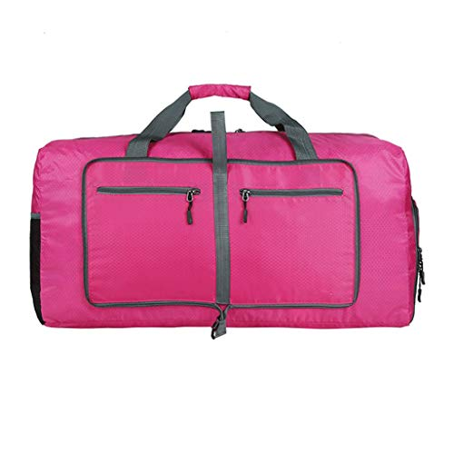 Cansenty Nylon faltbar tragbar Reise Gepäck Schuh Fach Aufbewahrung Organizer Tasche rose pink