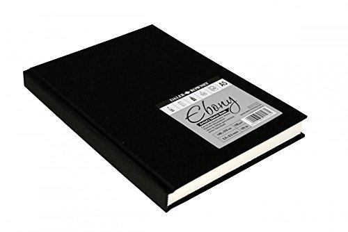 SG Education® DR 813880400 Daler Ebony Skizzenblock, Hardcover, A4