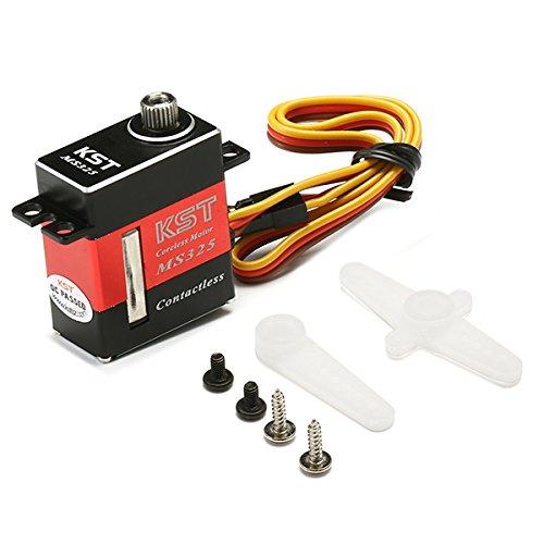 LaDicha Kst Ms325 6.5Kg Drehmoment-Magnet-Sensor Digital-Servo Für Goblin 380 Trex (Mini T Kostüm Rex)