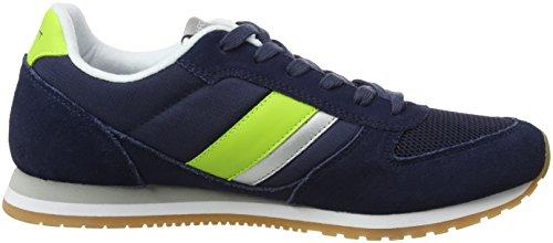 Hackett London Winfield, Chaussures de Running Homme Bleu (Navy)