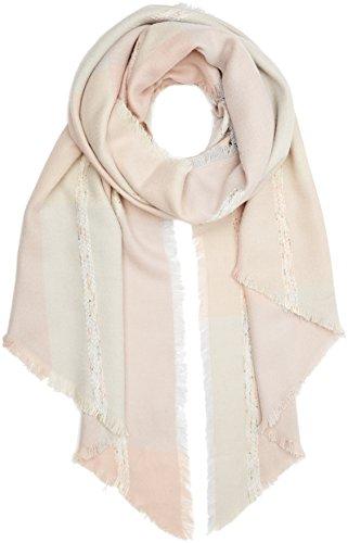 s.Oliver Damen Schals 39.610.91.3868, Rosa (Purple/Pink 40n1, Rosa Kariert), One Size (Herstellergröße: One Size)