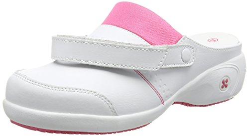 Oxypas Sandy, Women's Safety Shoes, White (Fux), 4 UK (37 EU) Weiß (fux)