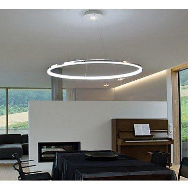 Luz de techo moderna simple anillo LED Colgante Diseño Mini