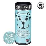 Pooch & Mutt - Mini-Bone Dog Treats (Wheat free & Junk free) - Health & Digestion, 6x125g