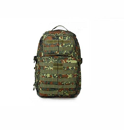 Outdoor Tarnung Rucksack Klettern Tasche Für CS Feld Mit Erweitert System Dottedcamouflage