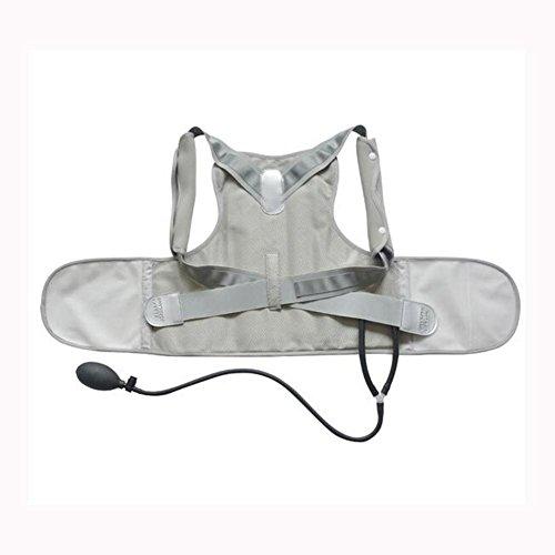 SHIQUNC JZL-B116 Aufblasbar Posture Corrector Rückenhalter Haltungskorrektur,Wirbelsäulenkorrektur, Buckel verbessern,Größe(S-XL), S (Aufblasbare Schulterpolster)