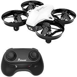 Potensic Mini Drone con Control Remoto con la Función de Suspensión de Altitud, Apto para Principiantes, Niños, Blanco