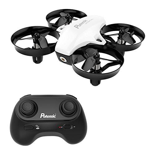 Potensic A20 Mini Drone avec Les Fonction sans tête, Altitude Tenir, Deux Boutons pour...