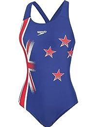 Speedo New Zealand Plmt Pbck Af Badeanzug Damen