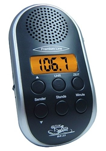 Fun-Collection Radio BR 23 one size, schwarz