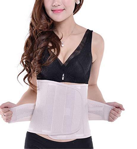 XJZJIA Gürtel Bauch Gürtel Atmungsaktive Gürtel Warme Gürtel Körperförmige Gürtel, Haut Ton, M