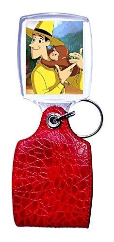 Schlüsselanhänger rot neugierig wie George 2