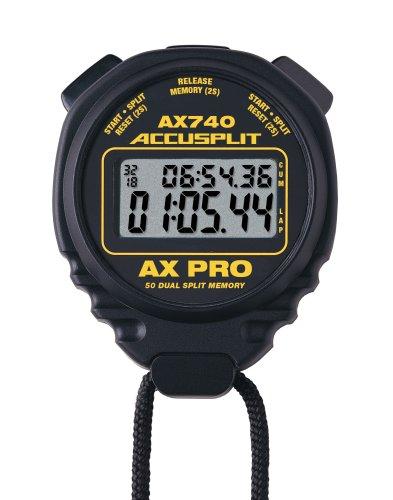 ACCUSPLIT AX740 Dual Line 50 Memory Pro Stopwatch