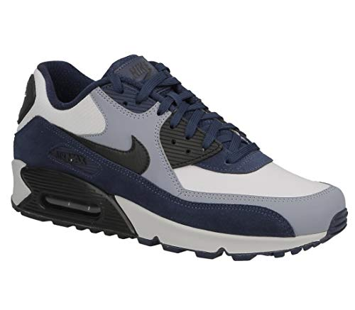 de5dac604784 Nike Air MAX 90 Leather, Zapatillas de Gimnasia para Hombre, Azul (Blue Void