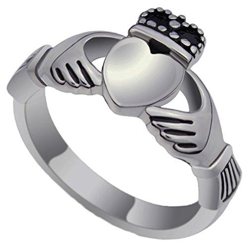 SonMo Silber 925 Ring Damen Hochzeit Ring Verlobungsring Eheringe Rundes Weiß Silber 3.5Mm Trauringe Silber mit Gravur für Frauen 60 (19.1)