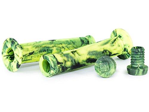 Wethepeople Arrow Griffe - 146mm | Neongelb/schwarz | mit Flansch -