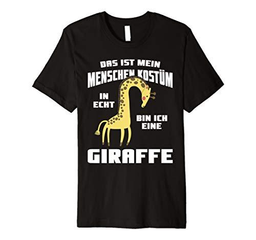 n Kostüm. In echt bin ich eine Giraffe ()