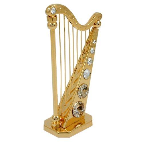 Dekoration Figuren Harfe mit 107 x 64 mm