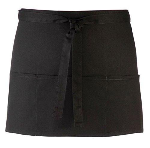 premier-short-bar-apron-with-3-open-pockets-black