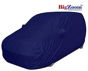 Bigzoom Stylish Car Cover for TATA Zest-Mosom Blue