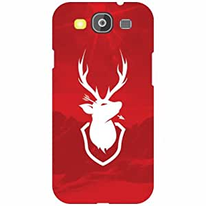Printland Red Color Phone Cover For Samsung Galaxy S3 Neo