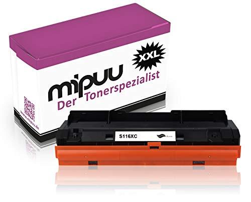 Mipuu Toner kompatibel zu Samsung MLT-D116L für Xpress M2675fn M2885fw M2625d M2835dw M2675 M2875 M2875fd M2875fw M2825dw M2825nd M2675f SL-M2625 SL-M2675fn schwarz