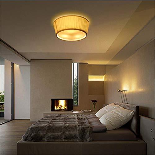 FJTLX Schatten-Decken-Weinlese, kreatives Weinlese-Wohnzimmer-Schlafzimmer das Restaurant rundes Retro- schweres Gewebe bedeckt Deckeneffizienz: a +++ - Schweres Gewebe