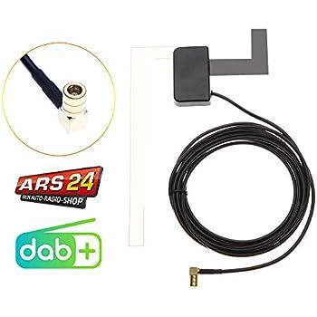 schwarz Scheibenantenne transparent Alpine Electronics KAE-242DA Aktive DAB