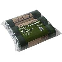 Relevo - Bolsa de basura de 100 lts, cubo de jardín. pack de 3 rollos, 10 unidades/rollo