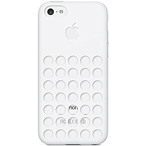 Apple MF039ZM/A - Carcasa para Apple iPhone 5C, blanco