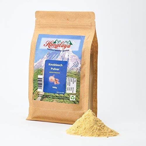 knoblauchpulver knoblauch gemahlen knoblauch gewürz garlic powder 500g gewürz gemahlen aus indien