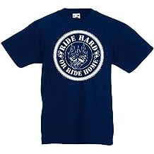T-shirt per bambini Ride Hard! Biker clothing