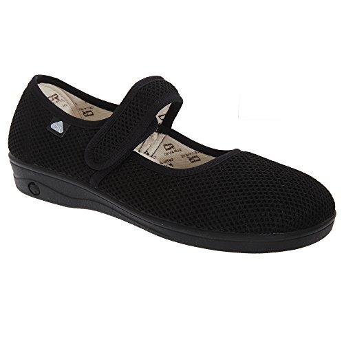 celia-ruiz-sandales-velcro-femme-38-eur-noir