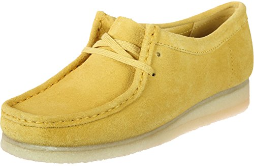 Clarks Originals Wallabee W Schuhe Yellow Suede (Wallabee-schuhe Frauen)