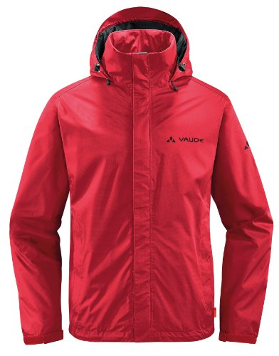 VAUDE Herren Regenjacke Escape Light Red