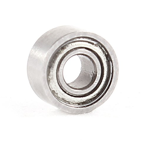 Preisvergleich Produktbild sourcingmap® 2 mm x 5 mm x 2, 5 mm Metall Dichtung Singular Stab tiefe Stecker Kugellager