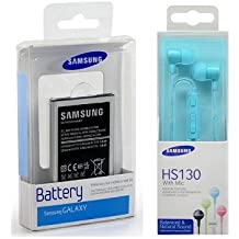 Batería Original Samsung GT-S7580Galaxy Trend Plus (Blister Incluye auricular orginale Samsung HS130Blue (Blister
