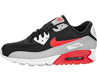Nike Men's Air Max 90 Essential Gymnastics Shoes, (Wolf Grey/Bright Crimson/Black 012), 8.5 UK (B07DCJ1Z32) | Amazon price tracker / tracking, Amazon price history charts, Amazon price watches, Amazon price drop alerts