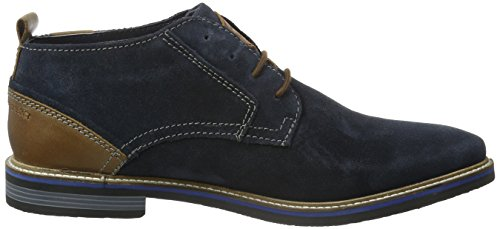 bugatti Herren F7536pr3 Desert Boots Blau (dunkelblau 425)