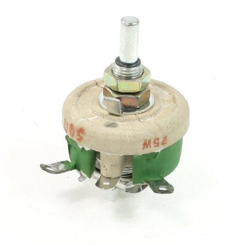 Motor Control 25W 50Ohm C geformte Keramik variabler Widerstand (25w-motor)