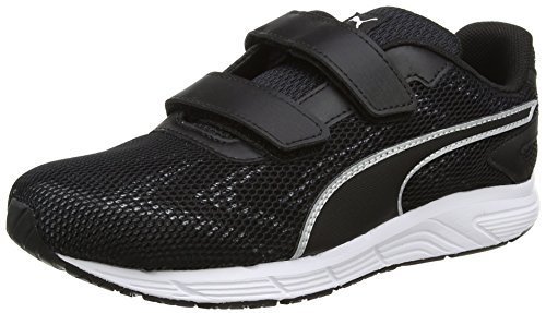 Puma Unisex-Kinder Engine V Ps Low-Top Weiß (puma white-puma black 01)