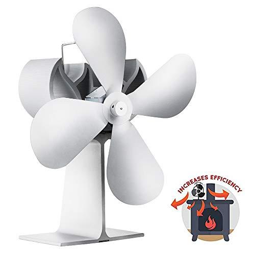 AMZ BCS Kamin Fan Thermal Drive Gebläse Heißluft Umwälzpumpe Wärme Dynamische Indoor Mute Ventilator Kohle Holzpellet Brenner Ventilator - Multi Flamme Heizung