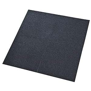 comfort teppichfliesen nadelfilz anthrazit selbstklebend 1m k che haushalt. Black Bedroom Furniture Sets. Home Design Ideas
