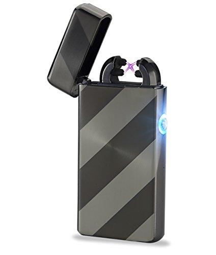 USB mecheros, Electrónico, mechero, USB, recargable, con doble luz arco