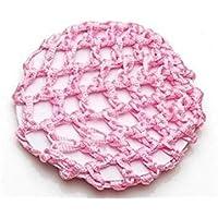 HSDDA Haarknotennetz für Dutt, für Ballett, Gymnastik, für Mädchen, Rosa