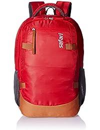 Safari 40 Ltrs Red Laptop Backpack (Brisk)