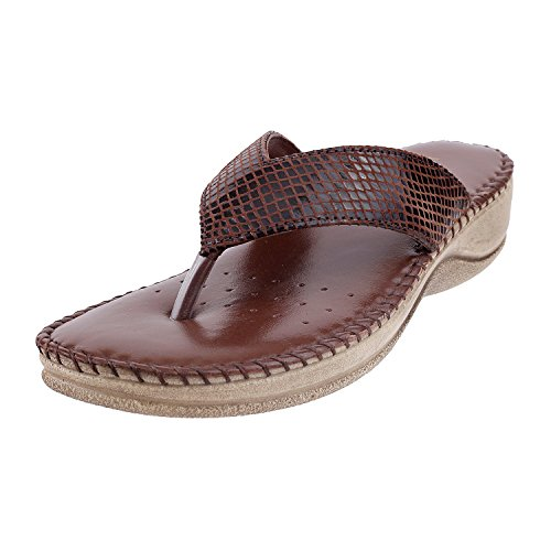 METRO Women BROWN LEATHER