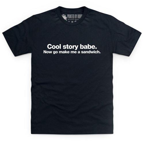 Cool Story Babe T-Shirt, Herren Schwarz