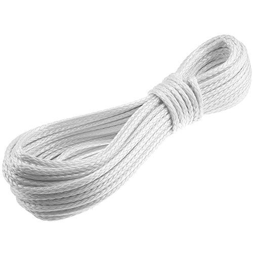 Seil Dyneema PRO 3mm 10m geflochten weiss