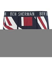 Ben Sherman Official Boxer Shorts Trunks Underwear Union Jack 2 Pair Sizes S-XL